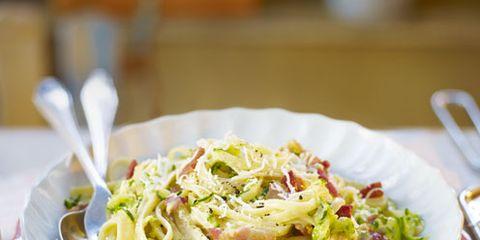 Cuisine, Food, Dishware, Serveware, Tableware, Ingredient, Pasta, Spaghetti, Noodle, Plate,