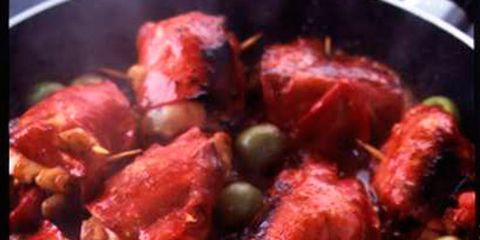 Food, Ingredient, Recipe, Dish, Chicken meat, Cooking, Red cooking, Meat, Produce, Flesh,