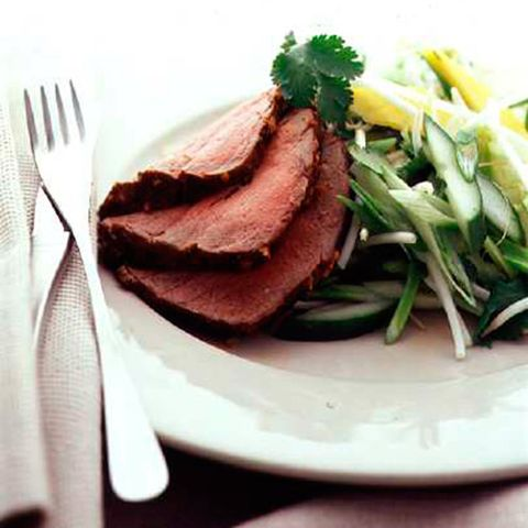 chinese roast beef salad