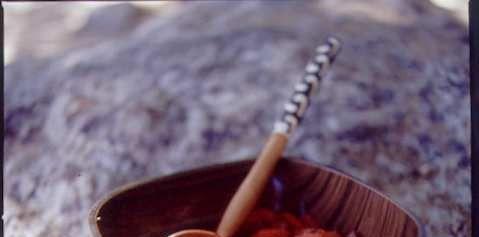 Food, Ingredient, Bowl, Tableware, Dish, Cuisine, Spoon, Recipe, Kitchen utensil, Cutlery,