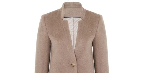 Product, Coat, Collar, Sleeve, Textile, Outerwear, Blazer, Fashion, Button, Pattern,
