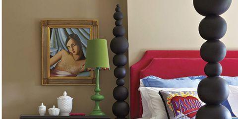 Room, Textile, Interior design, Bed, Wall, Linens, Bedding, Floor, Bedroom, Flooring,