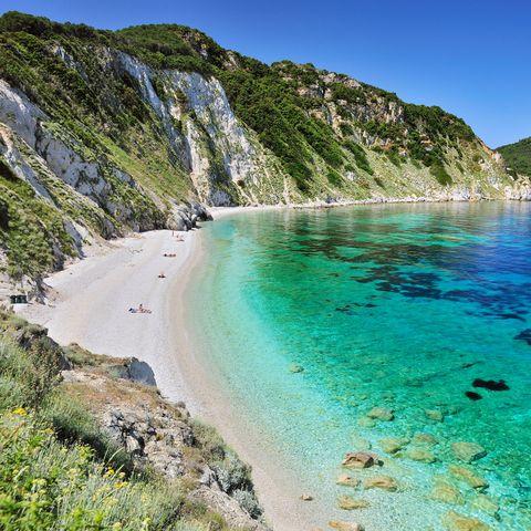 Body of water, Coastal and oceanic landforms, Coast, Water, Shore, Bay, Turquoise, Terrain, Mountain, Beach,