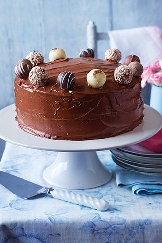 Good Housekeeping UK Chocolate Fudge Cake