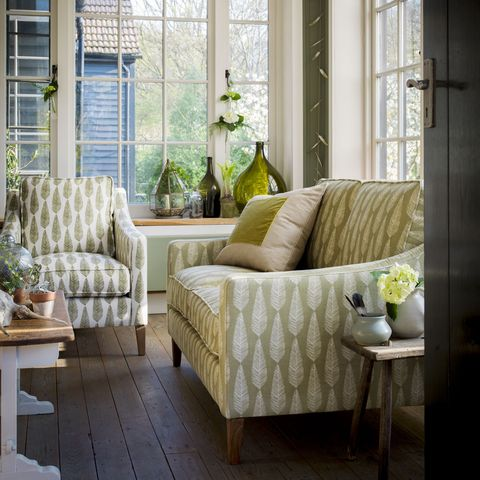 Room, Interior design, Green, Living room, Home, Furniture, Floor, Wall, Table, Couch,