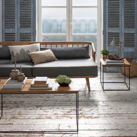 Interior design, Window, Wood, Room, Furniture, Table, Floor, Flooring, Living room, Couch,