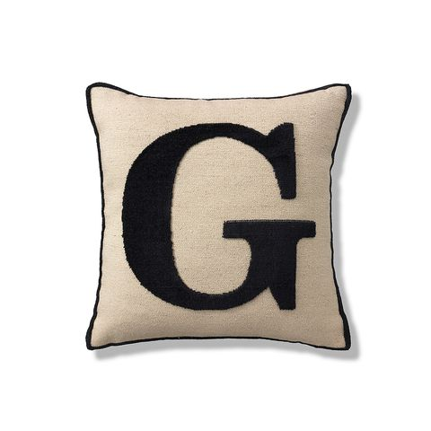 Textile, Cushion, Throw pillow, Pillow, Home accessories, Linens, Beige, Rectangle, Symbol,