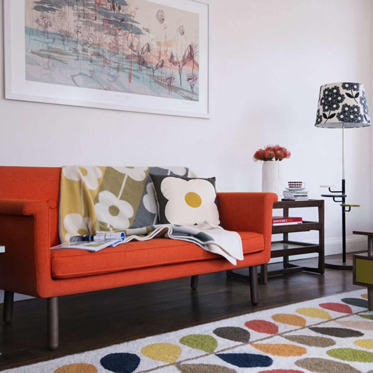 Sixties-style living room & Style through the decades - Home decorating ideas