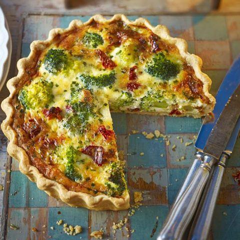 Food, Cuisine, Dish, Baked goods, Ingredient, Recipe, Quiche, Kitchen utensil, Pie, Pizza,