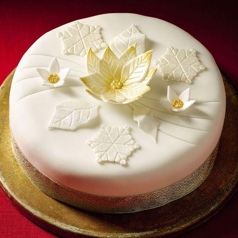 runner up morrisons the best poinsettia christmas cake