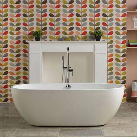 Plumbing fixture, Property, Floor, Wall, Tile, Interior design, Flooring, Room, Tap, Bathroom sink,