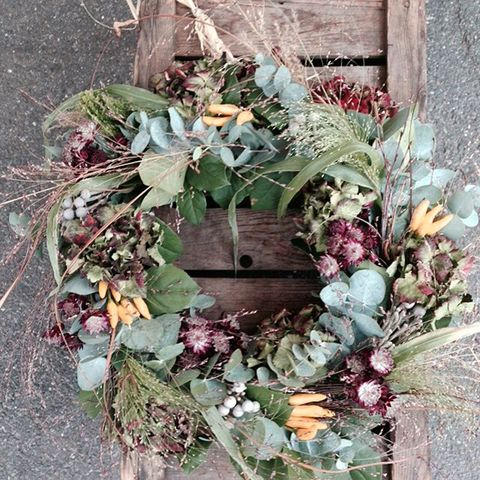 Real wreath