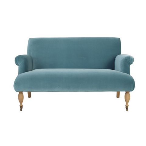 Furniture, Comfort, Turquoise, Teal, Hardwood, Armrest, Couch, Rectangle, Futon pad, Outdoor furniture,