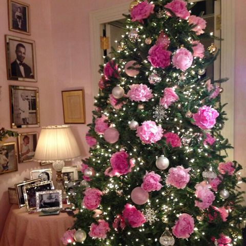 image - Pink Christmas Decorations Ideas