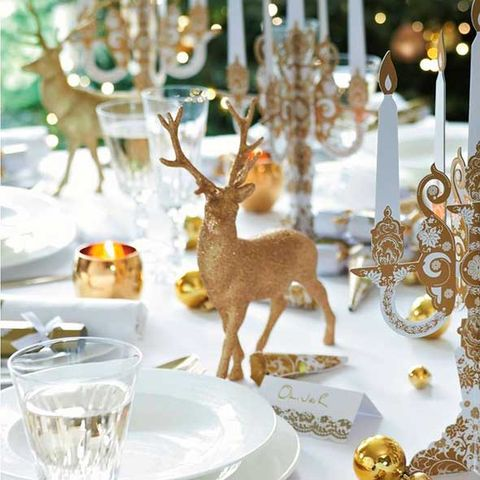 Best Gold Table Decorations For Christmas Christmas Decorations