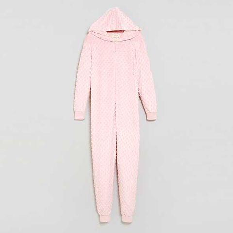 Sleeve, Textile, Pink, Peach, Costume design, Beige, Fur, Fashion design, Woolen, Creative arts,