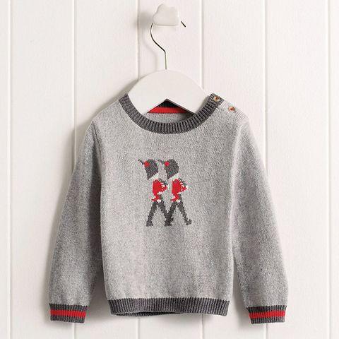 Product, Sweater, Sleeve, Textile, White, Pattern, Carmine, Fashion, Sweatshirt, Clothes hanger,
