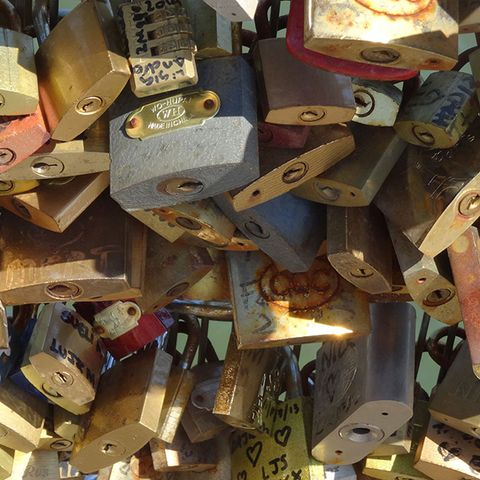 Lock, Padlock, Collection, Metal,