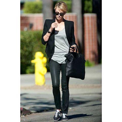 Clothing, Bag, Outerwear, Fashion accessory, Style, Street fashion, Sunglasses, Blazer, Luggage and bags, Fashion,