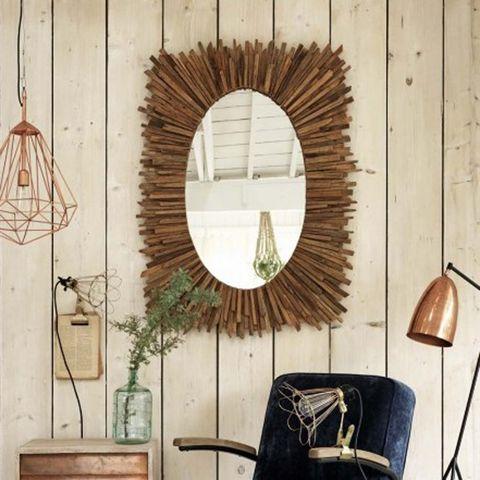 Wood, Room, Wall, Interior design, Interior design, Hardwood, Bag, Mirror, Leather, Lamp,