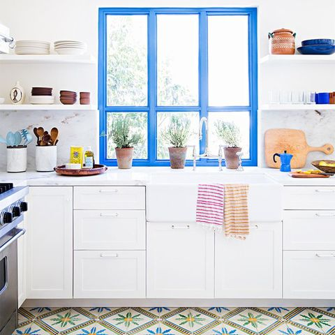 Paint Colours Kitchen Colour Schemes Good Houskeeping Uk