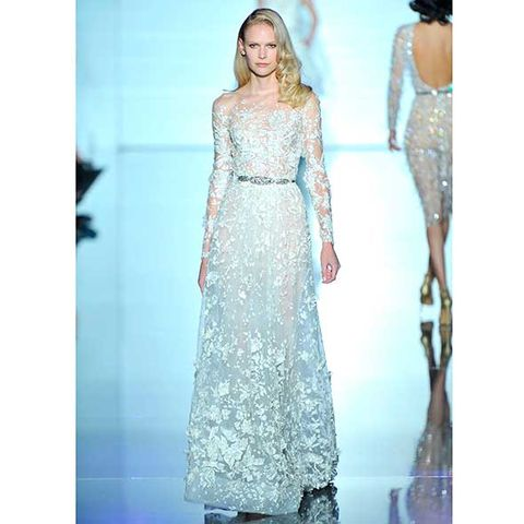 Clothing, Blue, Dress, Sleeve, Shoulder, Textile, Joint, One-piece garment, Formal wear, Pattern,