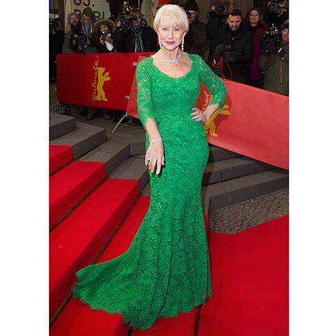 Green, Dress, Red, Formal wear, Style, Gown, Flooring, Carpet, Jewellery, Fashion,