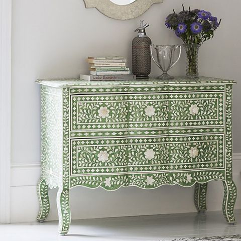 Product, Sideboard, Drawer, Room, Chest of drawers, Furniture, Interior design, Linens, Teal, Interior design,