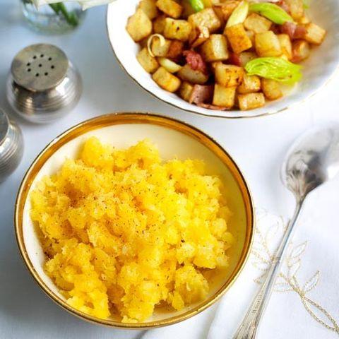 Food, Yellow, Cuisine, Tableware, Kitchen utensil, Recipe, Dishware, Meal, Dish, Serveware,