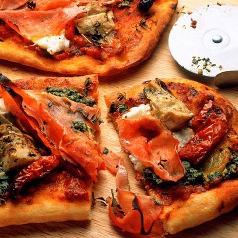Food, Cuisine, Finger food, Dish, Ingredient, Baked goods, Recipe, Plate, Pizza, Comfort food,