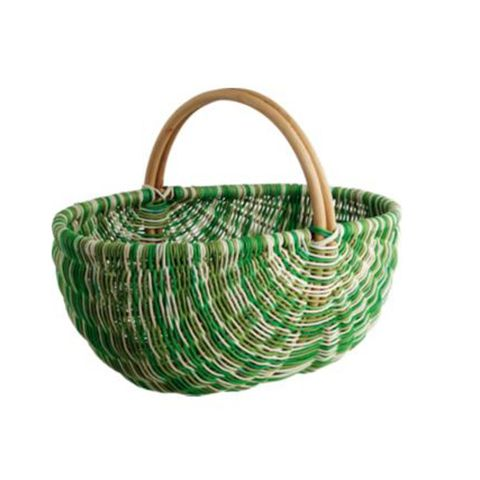 Product, Beige, Basket, Wicker, Storage basket, Natural material, Home accessories, Rope,