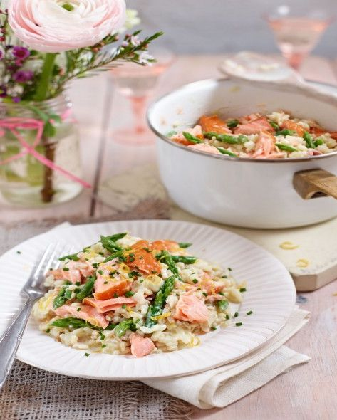 best asparagus recipes smoked salmon and asparagus risotto