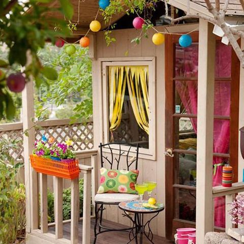 Orange, Outdoor furniture, Peach, Outdoor table, Shelving, Sphere, Fruit, Shelf,