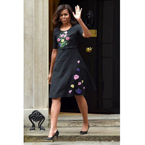 The Downing Street Dress Michelle