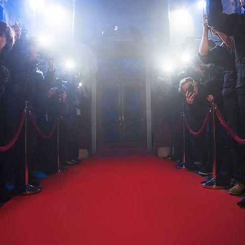 Flooring, Floor, Carpet, Red carpet, Hall, Lens flare, Rug,
