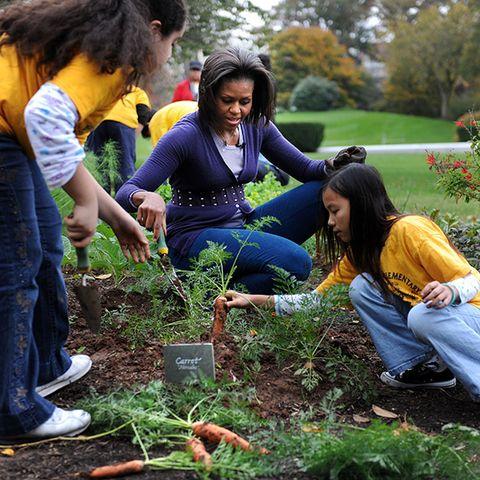Hair, Human, Leg, Denim, Jeans, People in nature, Soil, Spring, Groundcover, Garden,