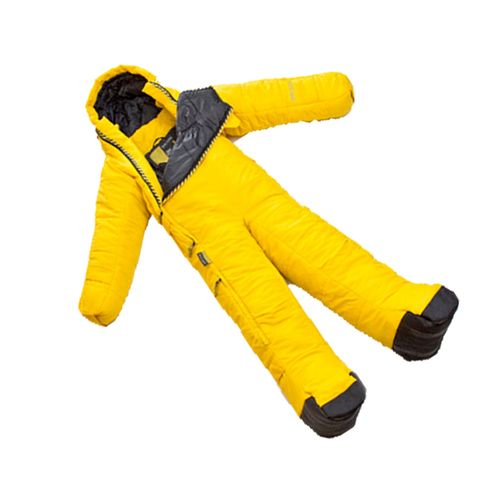 Yellow, Costume accessory, Workwear, Safety glove, Cylinder, Pipe,