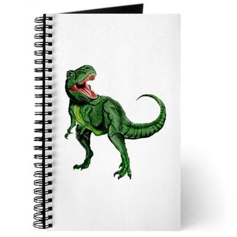 Organism, Dinosaur, Terrestrial animal, Notebook, Paper product, Tail, Paper, Illustration, Drawing, Painting,