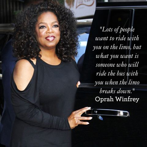 True Friendship Quotes Good Housekeeping Fascinating Oprah Quotes About Friendship