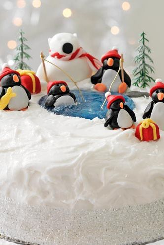 Christmas Cake Decorating Ideas How To Decorate A Christmas Cake