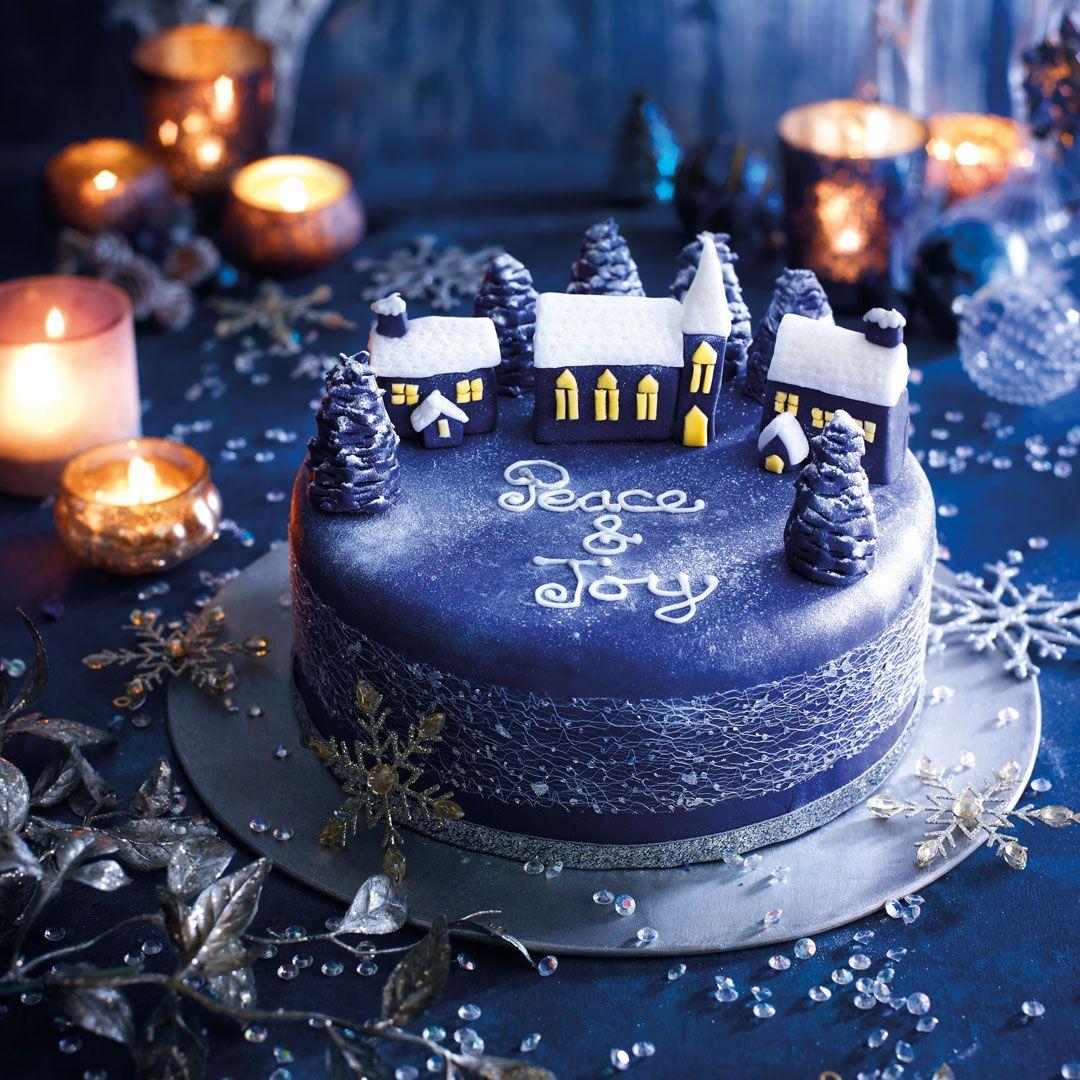 Christmas Cake Decorating Ideas How To Decorate A Christmas Cake
