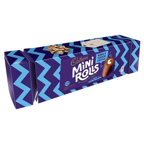 Logo, Electric blue, Rectangle, Confectionery, Packaging and labeling, Box, Junk food, Label,