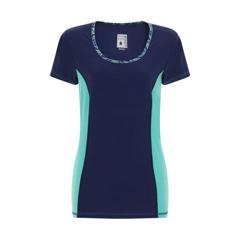 Blue, Sleeve, Sportswear, Teal, Aqua, Turquoise, Pattern, Electric blue, Jersey, Azure,