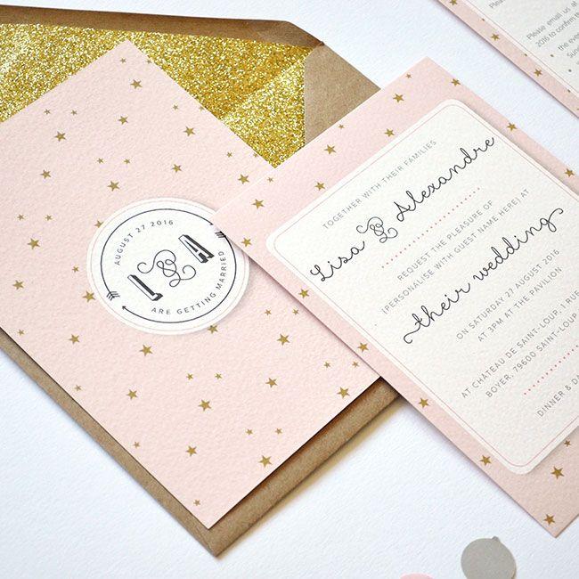 16 unique wedding invitation ideas