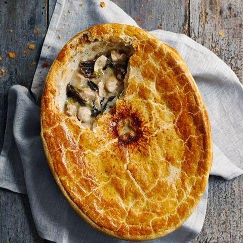 chicken pie recipe chicken and mushroom pot pie