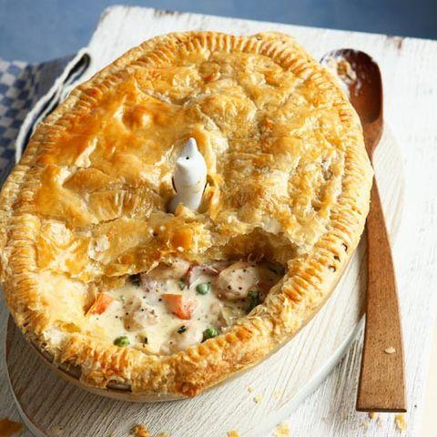 chicken pie chicken and bacon pie
