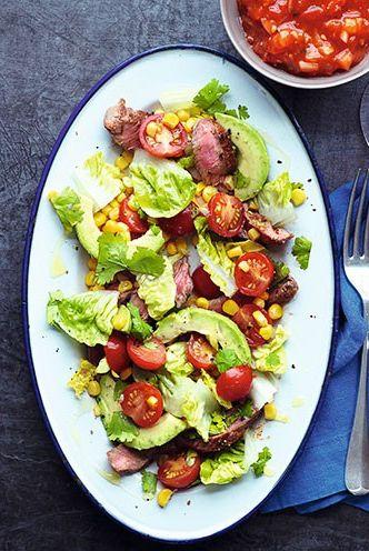 Dish, Food, Cuisine, Ingredient, Meal, Brunch, Breakfast, Salad, Meat, Fried egg,