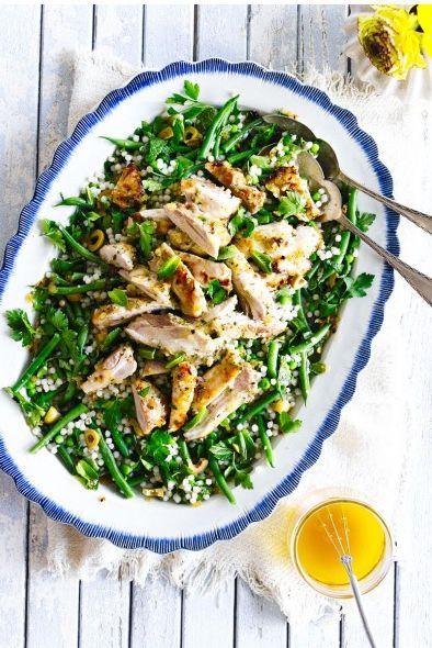 Food, Dish, Cuisine, Ingredient, Leaf vegetable, Vegetable, Produce, Salad, Gremolata, Caesar salad,