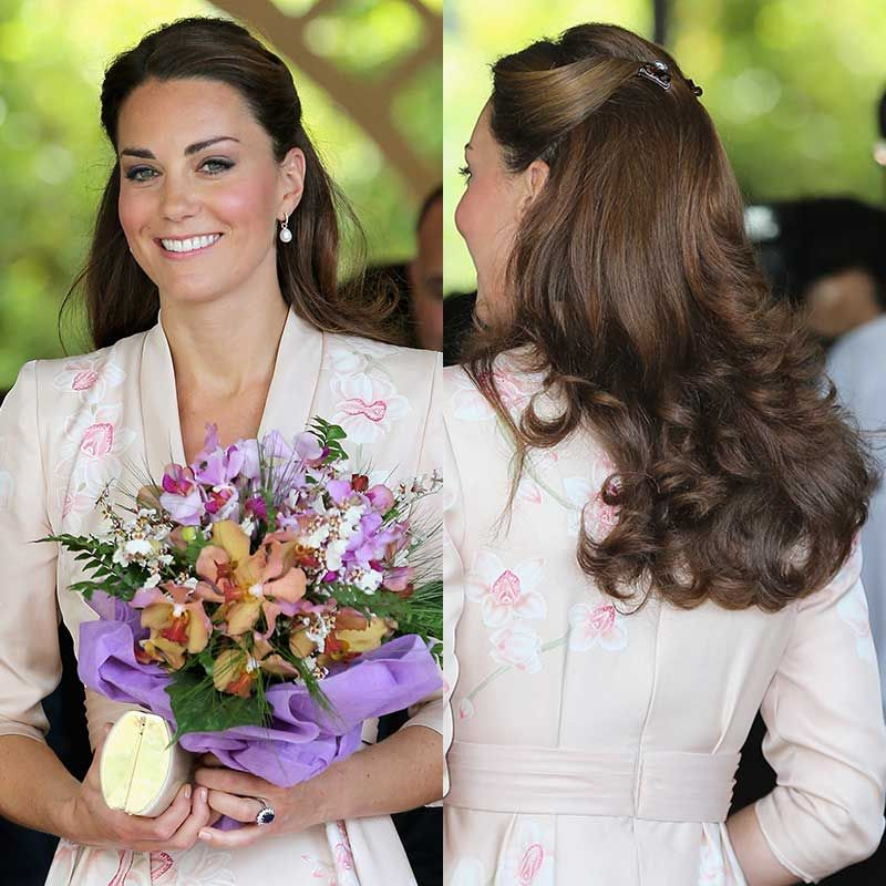 14 Best Kate Middleton Hair Looks Hairstyle Ideas From Duchess Of