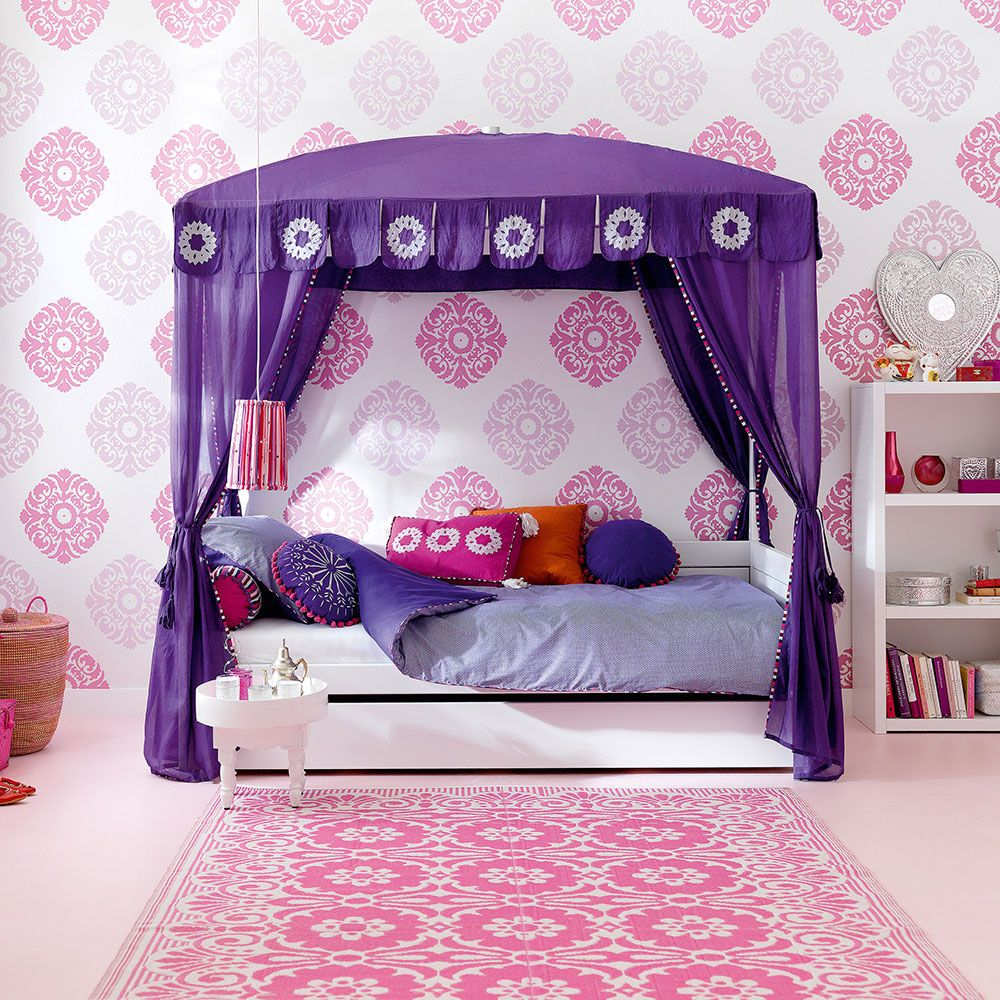 Every Kid Wants A Cool Bedroom   And Whether Your Daughter Is Obsessed With  Rainbow Shades Or Prefers A Cool, Muted Palette, Thereu0027s Bound To Be  Something ...
